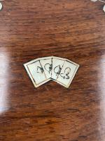 Antique 19th Century Mother of Pearl Inlaid Games Box (4 of 9)