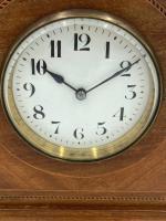 Antique Edwardian Mahogany Desk / Mantel Clock (2 of 4)