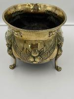 Antique Brass Planter c.1890 (6 of 6)