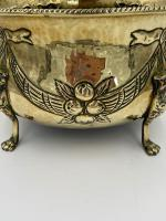 Antique Brass Planter c.1890 (4 of 6)