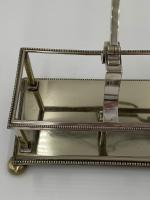 Antique Victorian Silver Plated Bottle Holder (5 of 5)