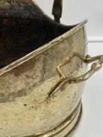 Antique Brass Coal Scuttle (6 of 6)