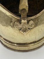 Antique Brass Coal Scuttle (4 of 6)