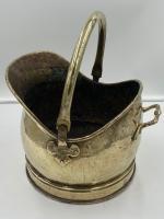 Antique Brass Coal Scuttle (5 of 6)