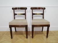 Good Pair of Rosewood Side Chairs