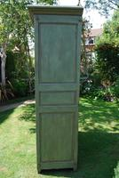 Painted French Oak Armoire c.1790 (2 of 5)