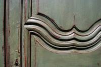 Painted French Oak Armoire c.1790 (5 of 5)