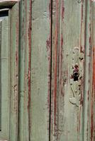 Painted French Oak Armoire c.1790 (4 of 5)