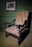 French Walnut Armchair