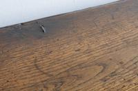 17th Century Oak Six Panel Coffer, Gouged Borders, V Cut Ends (11 of 12)