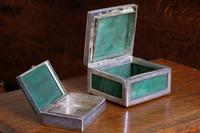 Two Jadeite & Silver Indian Mounted Boxes (5 of 8)