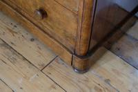 Victorian Burr Walnut Chest of Drawers (10 of 11)