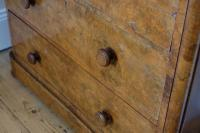 Victorian Burr Walnut Chest of Drawers (11 of 11)