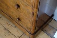Victorian Burr Walnut Chest of Drawers (9 of 11)