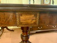 Lovely Early 19th Century Solid Mahogany Fold-Over Tea Table (6 of 6)