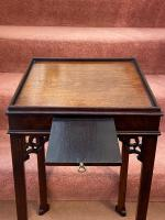 Late 18th Century Chippendale Period Solid Mahogany Urn Table (3 of 4)