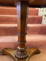 Gillows: Regency Period Rosewood Brass-Inlaid Occasional Table (2 of 4)
