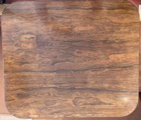 Gillows: Regency Period Rosewood Brass-Inlaid Occasional Table (4 of 4)