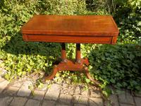 Regency Side Table / Card Table / Games Table (3 of 7)