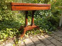 Regency Side Table / Card Table / Games Table (4 of 7)