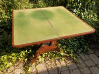 Regency Side Table / Card Table / Games Table (6 of 7)