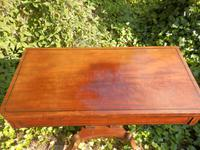 Regency Side Table / Card Table / Games Table (2 of 7)
