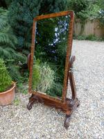Large Cheval Mirror. Adjustable. Castors (2 of 11)