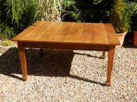 Solid Oak Extending Dining Table c.1920 (2 of 11)