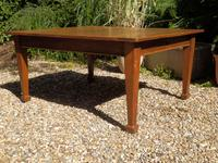Solid Oak Extending Dining Table c.1920 (3 of 11)