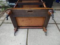 Canterbury, Whatnot, Burr Walnut with Satinwood Inlay (2 of 8)
