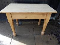 Pine Dining Table c.1920 (2 of 7)
