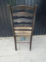 Arts & Crafts Style Dining Chair c.1920 (3 of 8)