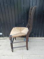 Arts & Crafts Style Dining Chair c.1920 (4 of 8)
