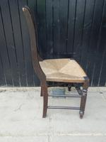 Arts & Crafts Style Dining Chair c.1920 (5 of 8)