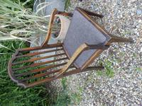 Set of 7 Arts & Crafts Dining Chairs by James Shoolbred (5 of 11)