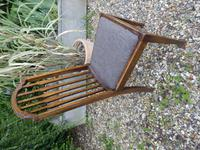 Set of 7 Arts & Crafts Dining Chairs by James Shoolbred (8 of 11)