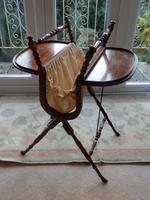 Needlework Table, Folding, Mahogany, Victorian (3 of 8)