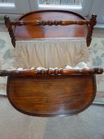 Needlework Table, Folding, Mahogany, Victorian (4 of 8)