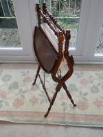 Needlework Table, Folding, Mahogany, Victorian (5 of 8)