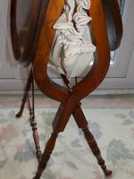 Needlework Table, Folding, Mahogany, Victorian (7 of 8)