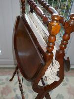 Needlework Table, Folding, Mahogany, Victorian (8 of 8)