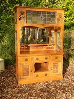 Sideboard, Art Nouveau, Solid Oak (3 of 11)