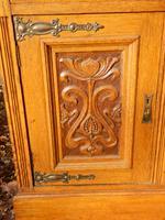 Sideboard, Art Nouveau, Solid Oak (5 of 11)