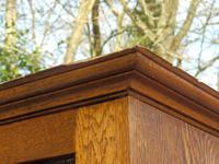 Sideboard, Art Nouveau, Solid Oak (8 of 11)