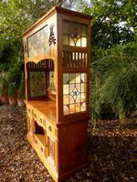 Sideboard, Art Nouveau, Solid Oak (2 of 11)