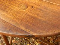 Drop Leaf Dining Table, Solid Oak, 18th Century (6 of 7)