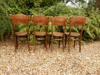 4 Thonet Chairs, Crocodile Patten, Polish (6 of 9)