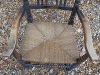 Bobbin Turned, Arts & Crafts Rocking Chair (4 of 8)