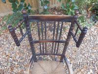 Bobbin Turned, Arts & Crafts Rocking Chair (5 of 8)