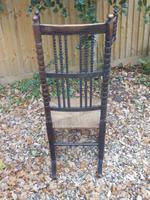 Bobbin Turned, Arts & Crafts Rocking Chair (7 of 8)
